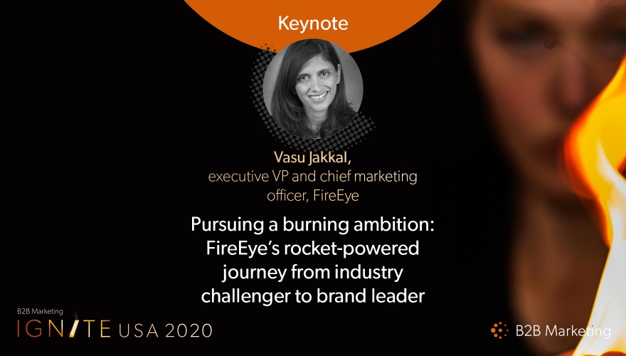 Ignite USA 2020 Keynote session: FireEye's journey from challenger to leader