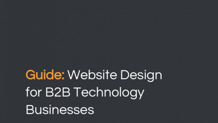 Website design for B2B technology businesses