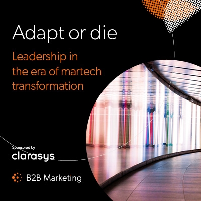 Adapt or die? Leadership in the era of martech transformation