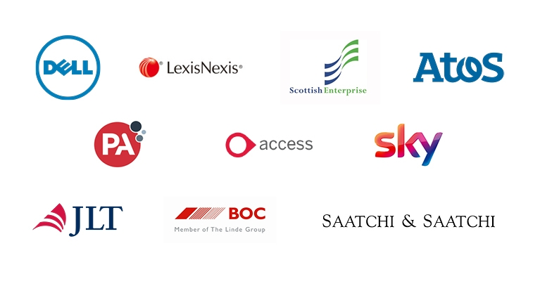 B2B Marketing enterprise client logos