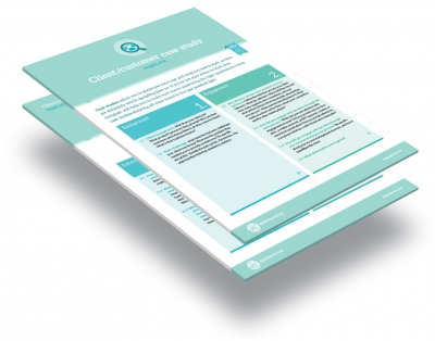 B2b marketing client case study template