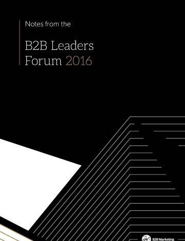 Leaders forum takeaways cover page