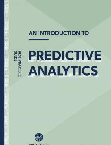Introduction to predictive analytics