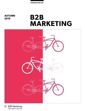 B2B Marketing Magazine Autumn 2019 Cover