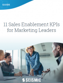 11 sales enablement KPIs for marketing leaders