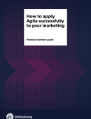 agile marketing guide cover page