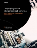 B2B marketing demystifying AI premium guide listing image