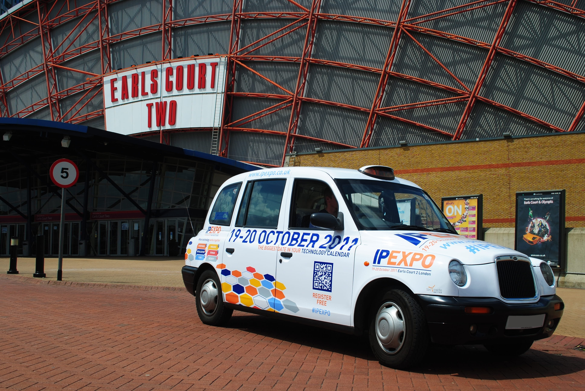 IP Expo taxi
