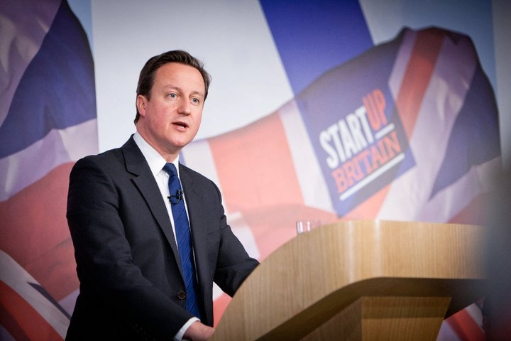Cameron backs Start Up Britain
