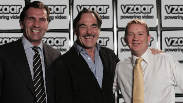 Oliver Stone and Vzaar