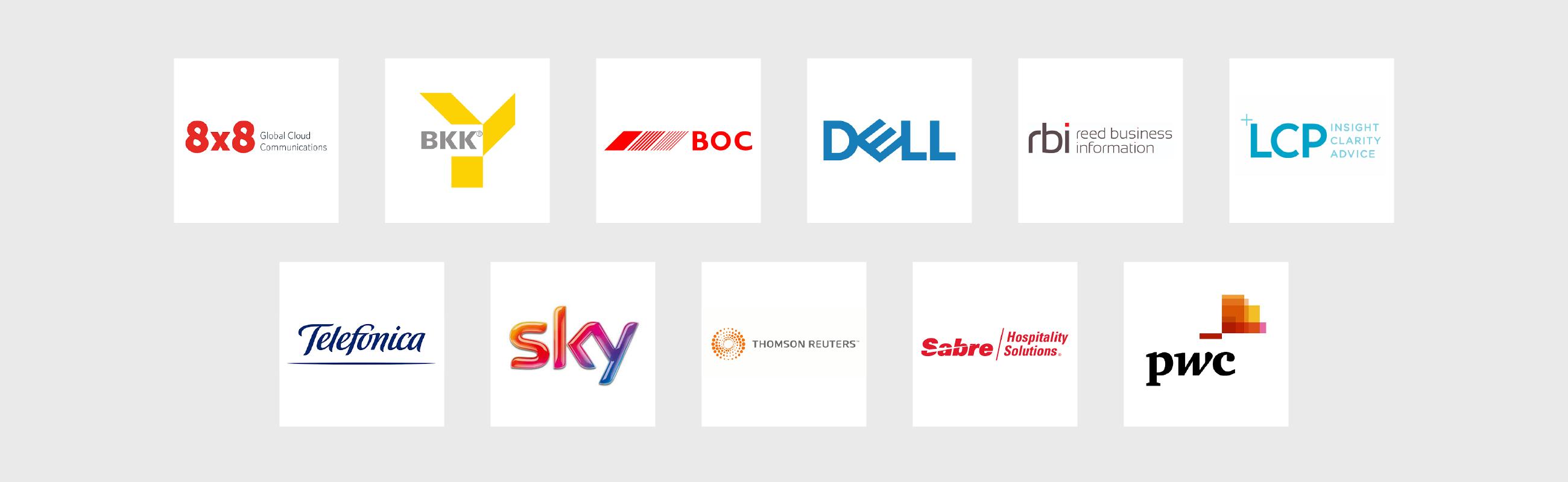 b2b marketing abm training client logos