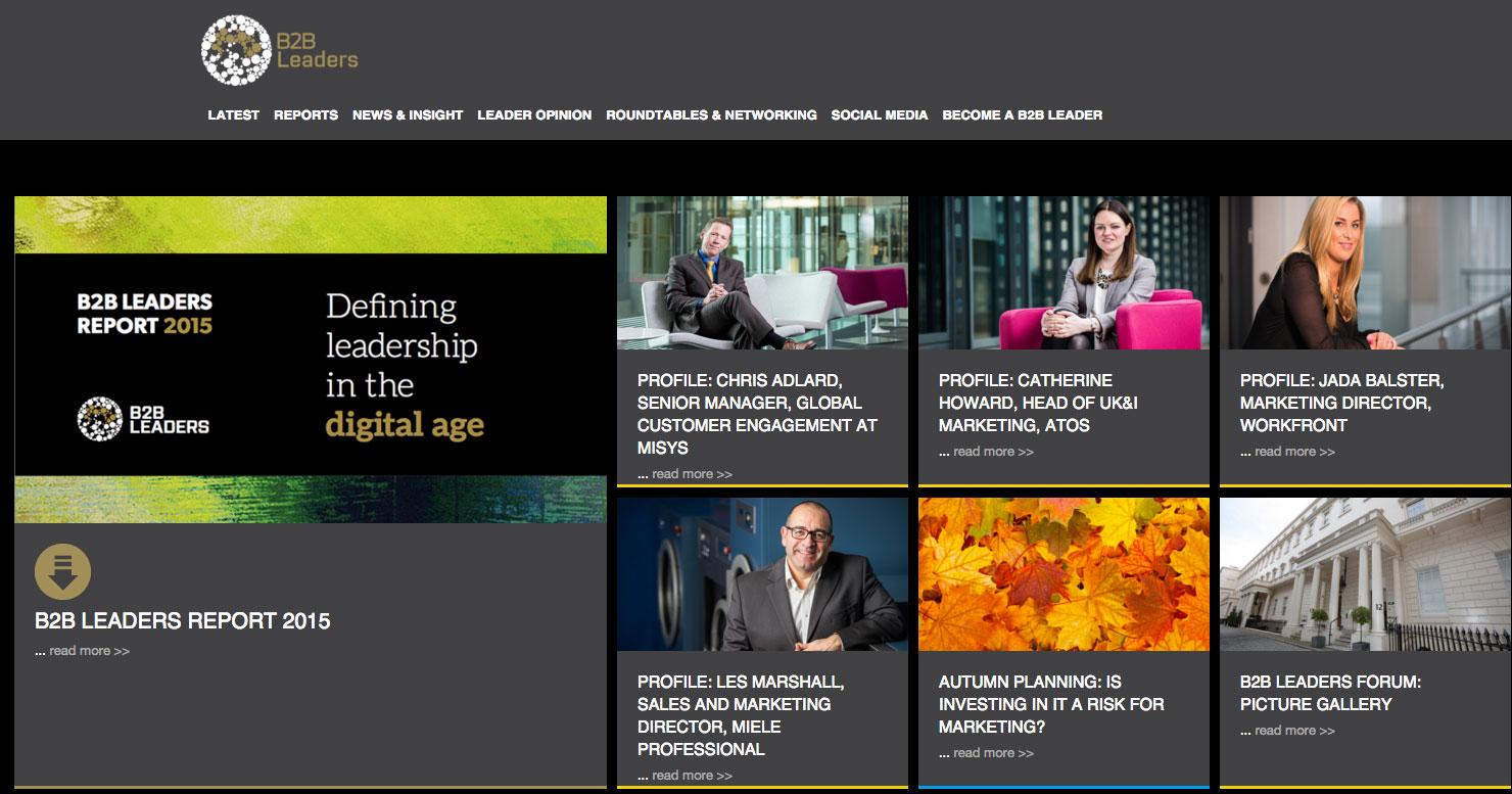 B2B Marketing's B2B Leaders Programme