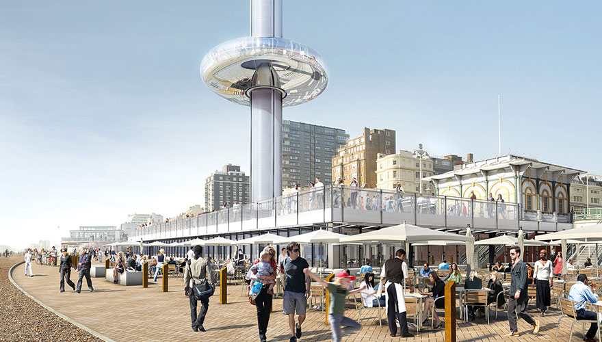 British Airways sponsors Brighton's i360 observation tower