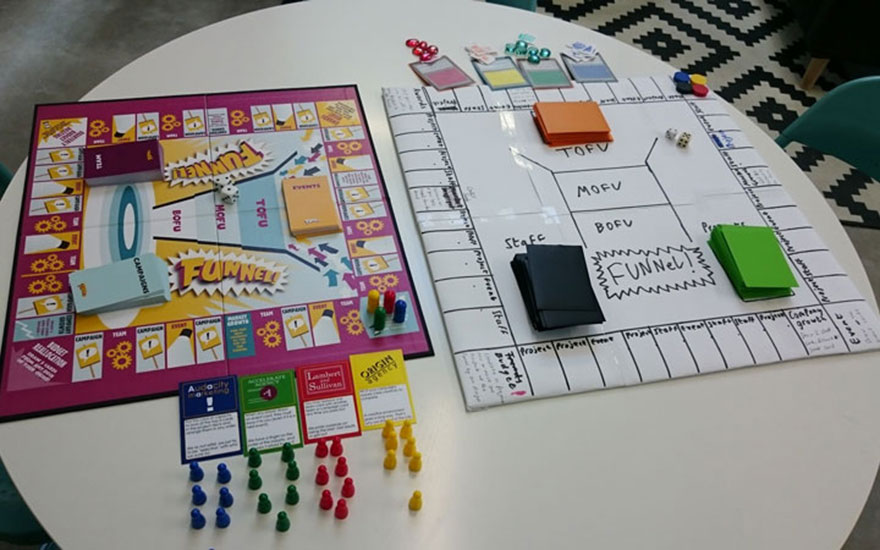 Funnel! The Content Marketing Board Game