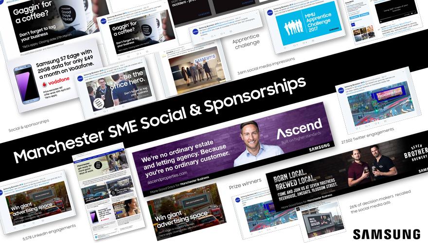 Manchester SME social and sponsorships
