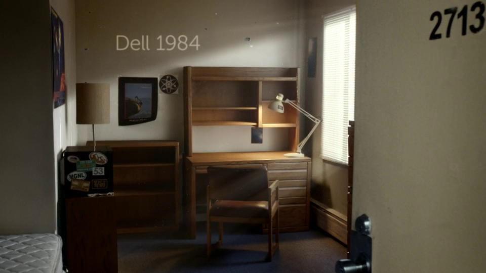 Dell has launched a US campaign drenched in nostalgia.