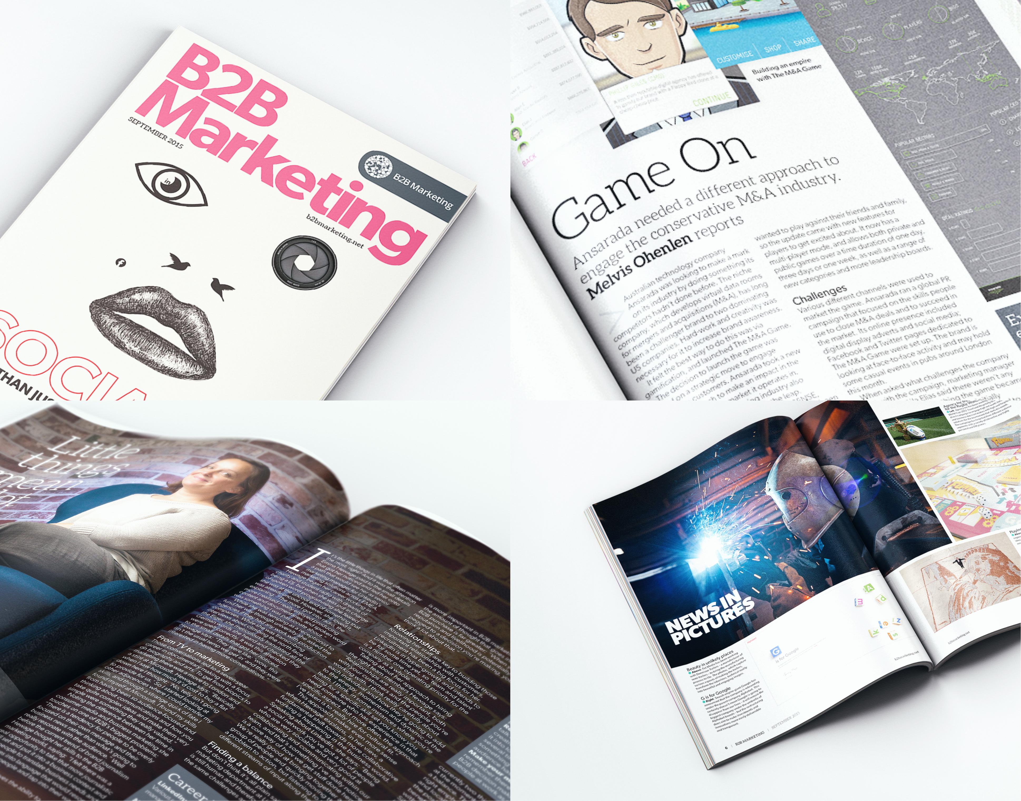 B2B Marketing September issue