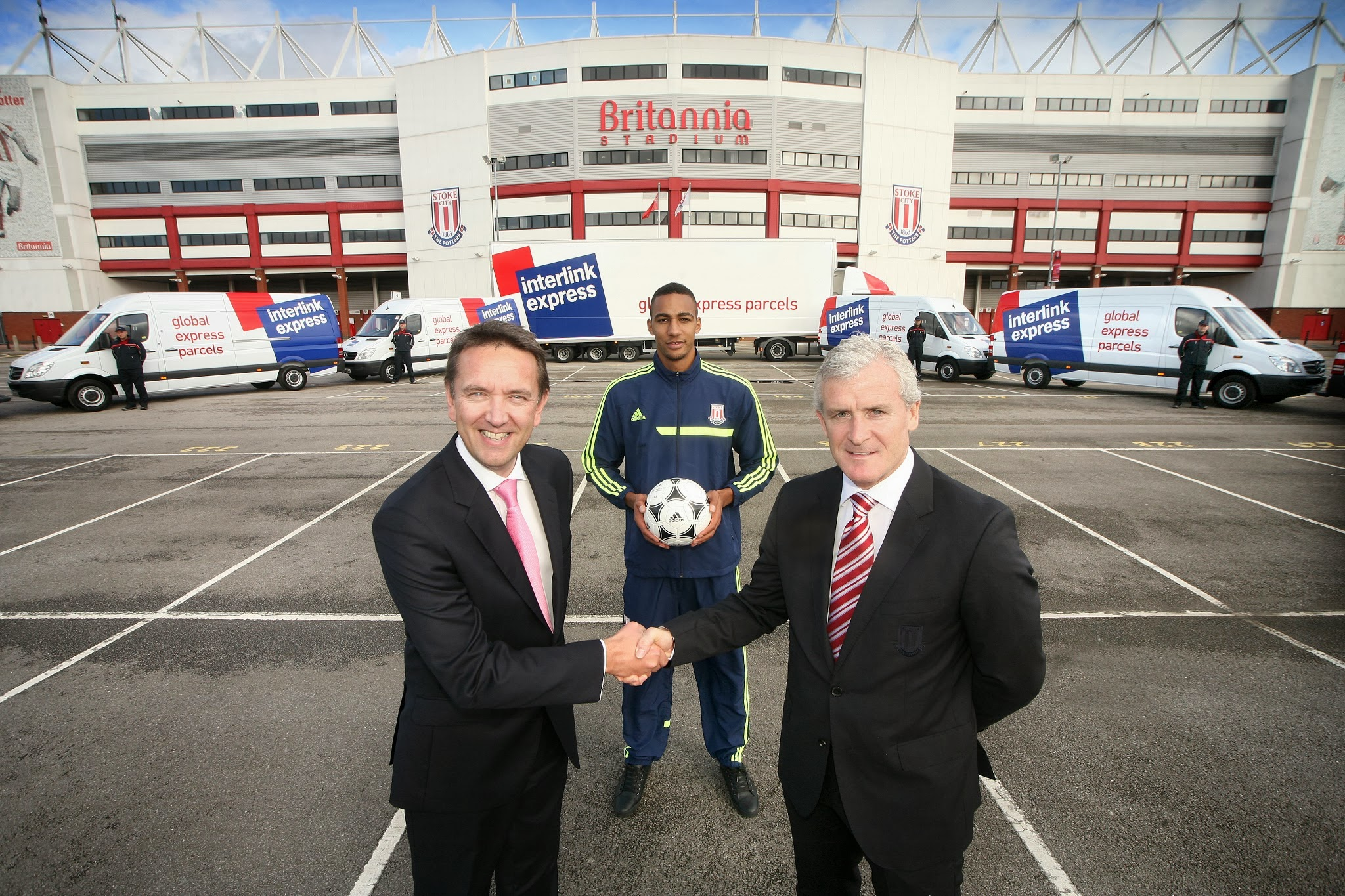 Stoke City sign extension with Interlink
