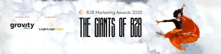 B2B marketing awards background image