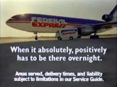 Fed Ex ad