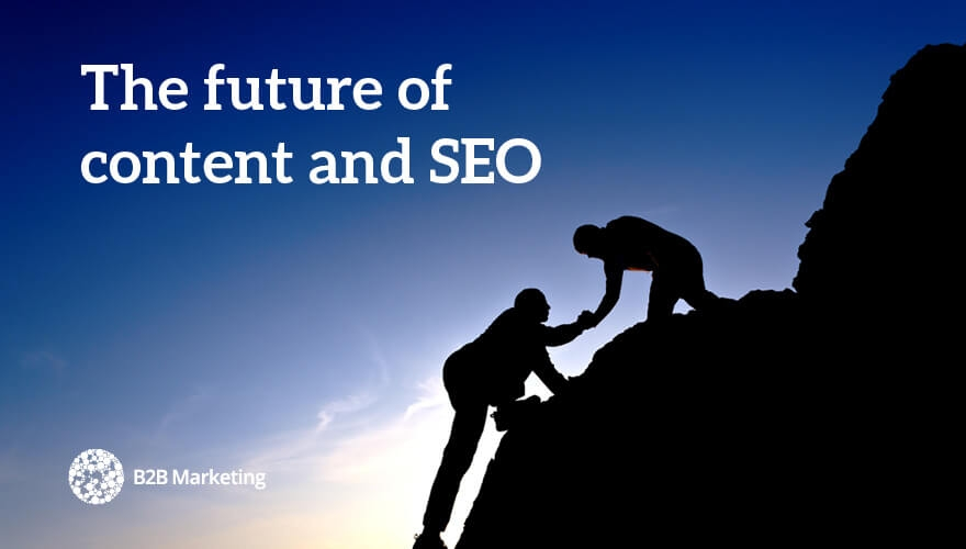 3 marketers argue the future of content and SEO image