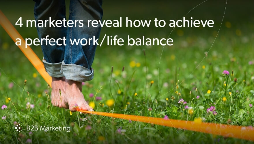 4 senior marketers give us their take on the much-debated work/life balance image