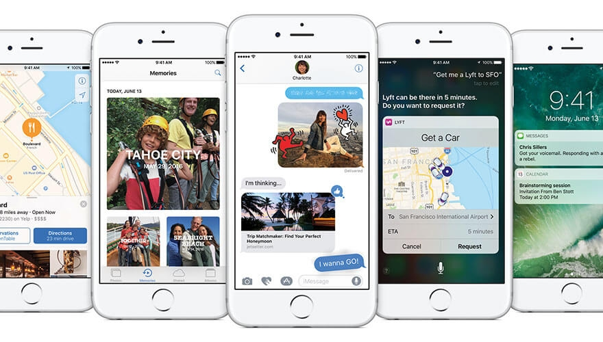 5 new features in iOS 10 - and why they're important for B2B marketers image