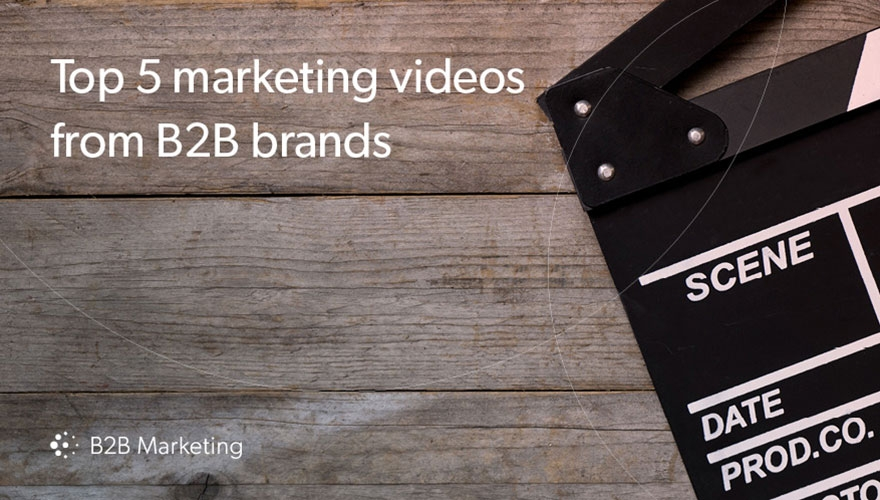 5 shining examples of B2B tech brand video campaigns image