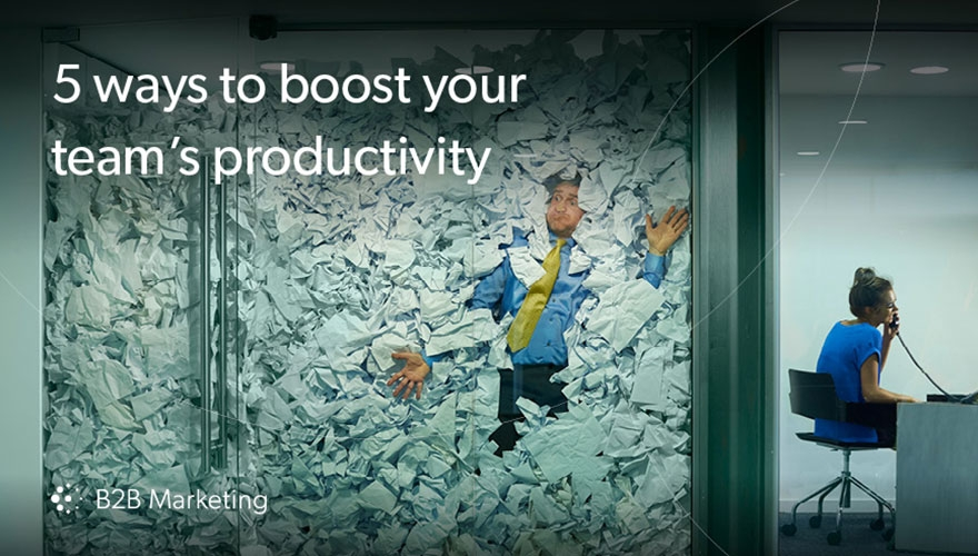 5 ways to boost your team's productivity