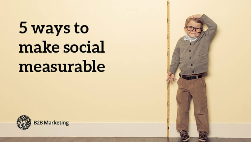 5 ways to make social measurable image