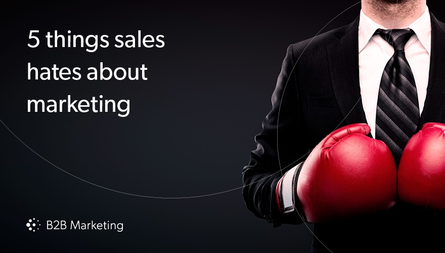 5 things sales hates about marketing (and how to make them better) image