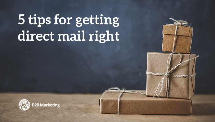 In defence of direct mail (and 5 ways to make it work for you) image