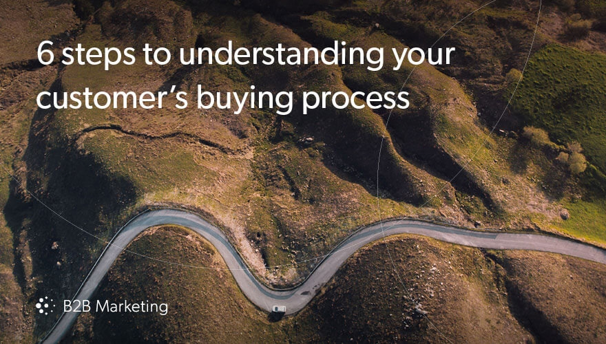 6 steps to understanding your customer's buying process image