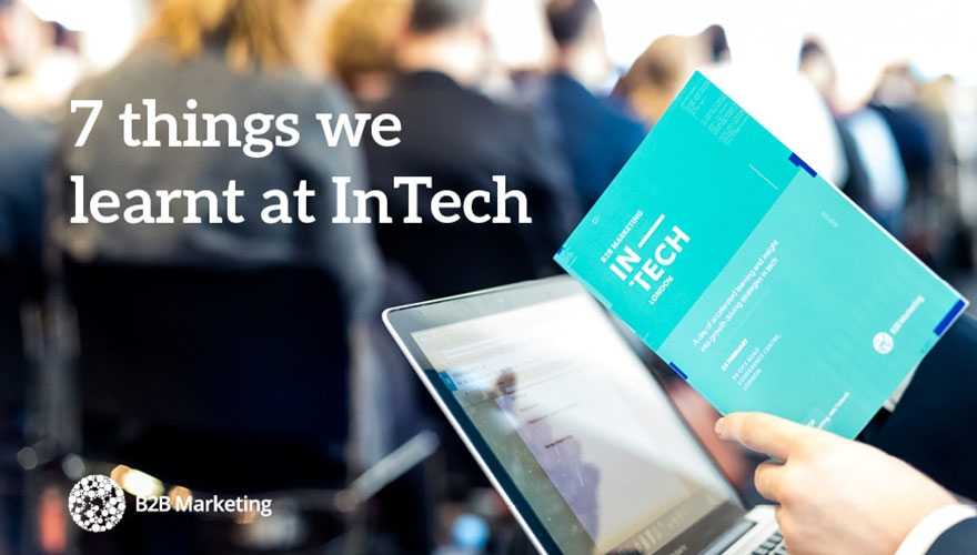 7 things we learnt at InTech 2017 image