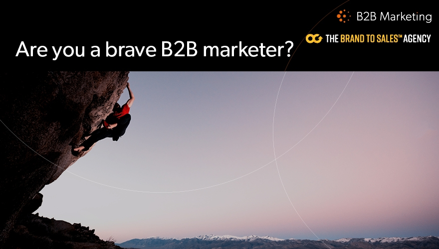 93% of B2B marketers would be braver if allowed to fail image