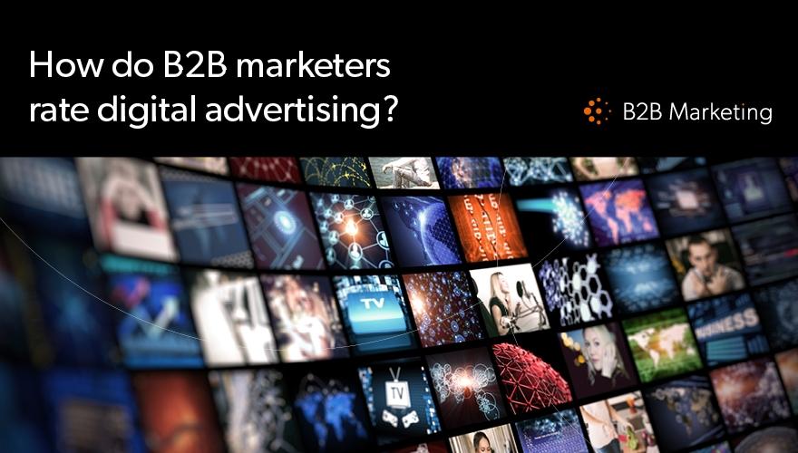 64% of marketers find targeting B2B audience through online advertising tough image