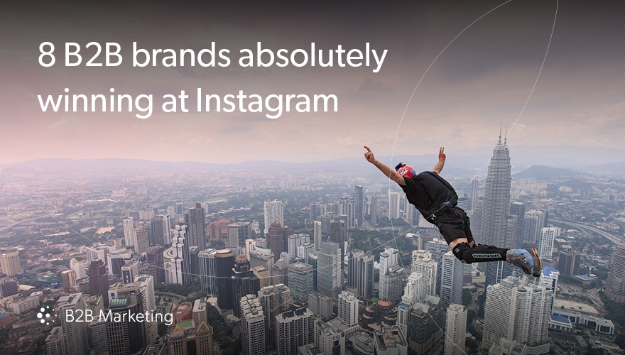 8 B2B brands winning at Instagram image