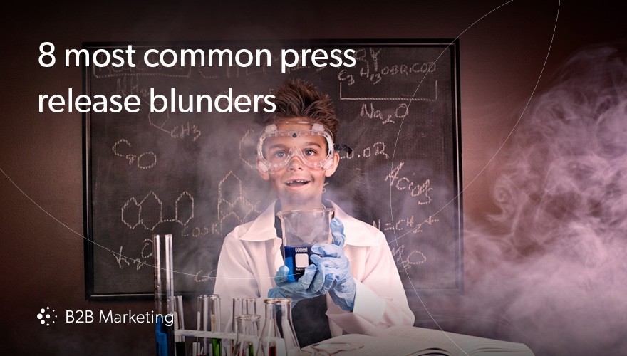 8 common mistakes marketers make when writing press releases image