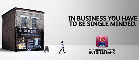 Allied Irish Bank (GB) launches 'Single Minded' advertising campaign