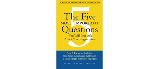 The Five Most Important Questions You Will Ever Ask About Your Organisation book review
