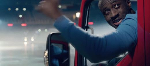 Footballer Yaya Toure features in Nissan's new advert
