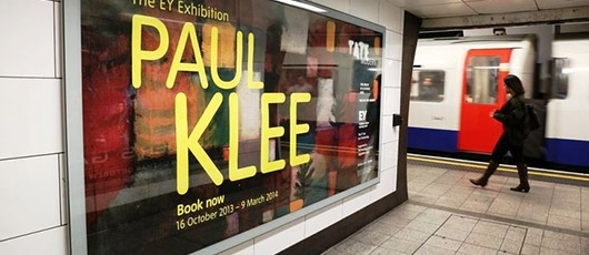EY sponsored a Paul Klee exhibition at the Tate Modern