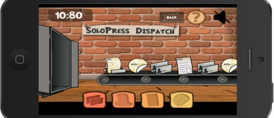 Solopress Game