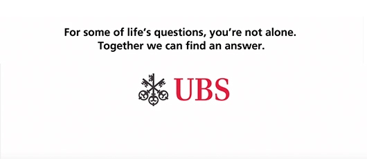 UBS advertising campaign