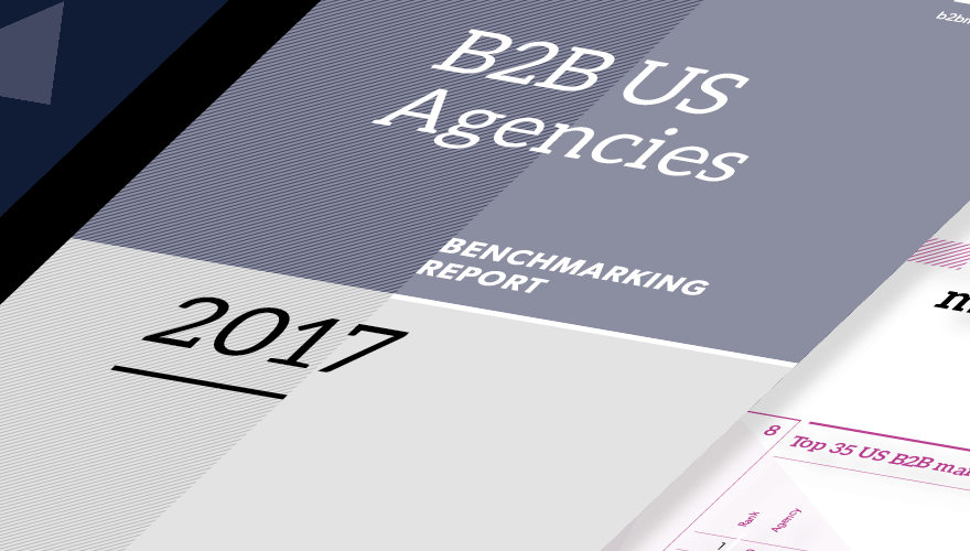 US B2B agencies ranked for first time image
