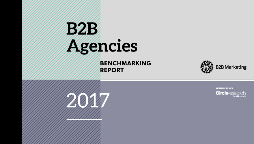 B2B Agencies benchmarking report header image