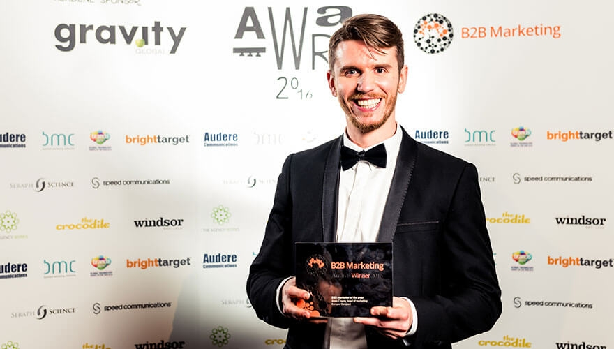 And the Award goes to... Interview with B2B marketer of the year Andy Cravos image