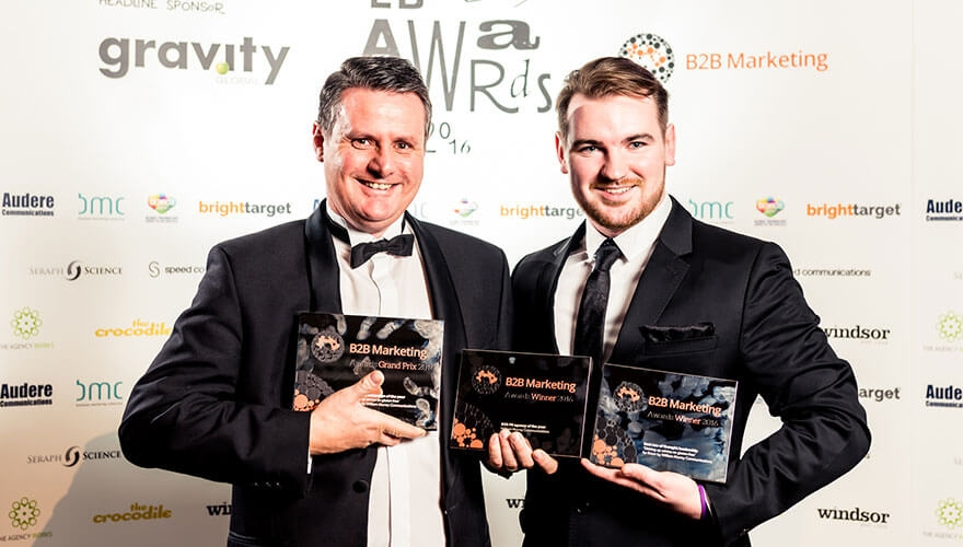And the Award goes to... William Murray's triple award-winning recipe for success image