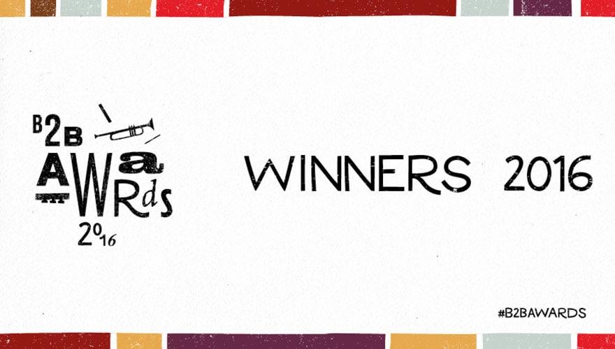 B2B Marketing Awards 2016 winners announced image