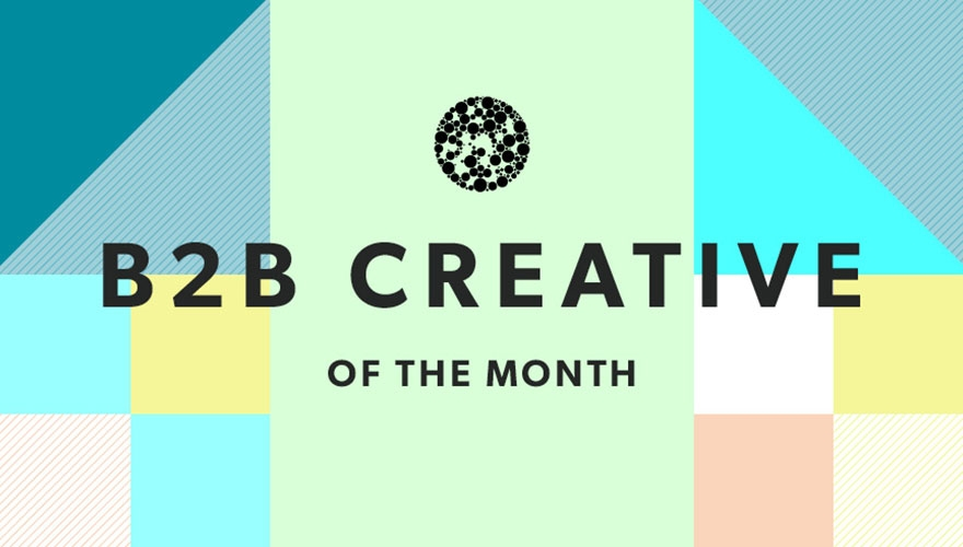B2B Creative of the month: April B2B marketing image